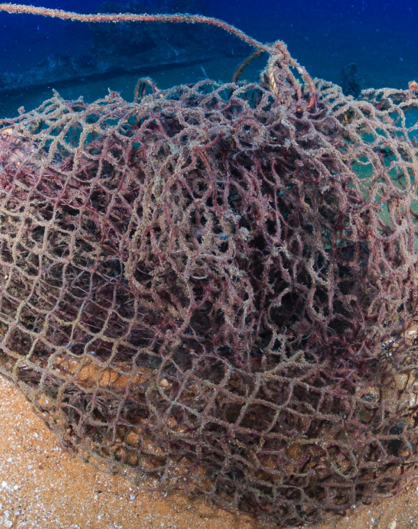 New yarns from discarded fishing nets