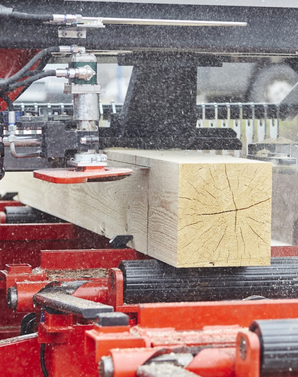 Maximising recovery rate in woodworking industry