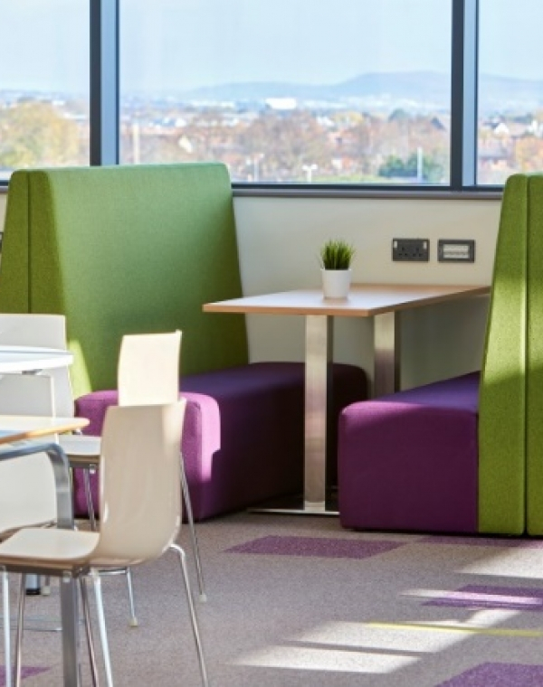 Re-used and re-manufactured office furniture